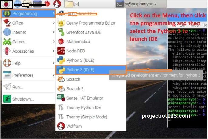 GPIO library for Python