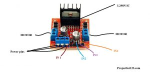 L298 Motor Controller,L298 Motor data sheet,L298 Motor pinout