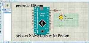 Arduino NANO Library for Proteus,Arduino NANO Proteus simulation