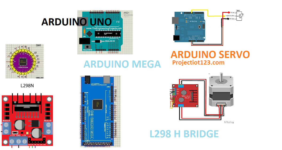 arduino library for proteus simulation - projectiot123