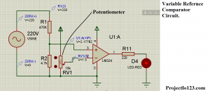 Comparator with Variable Reference Voltage,Comparator circuit