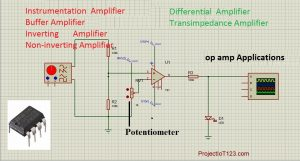 op amp Applications,op amp types,non inverting summing amplifier,non inverting amplifier