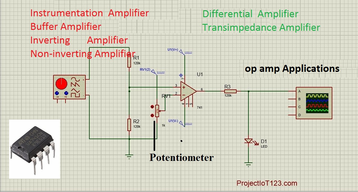 op amp Applications - projectiot123 Technology Information