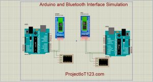 Arduino Bluetooth in Proteus
