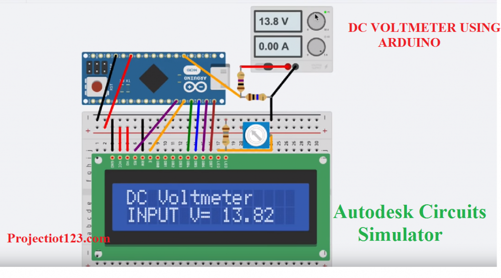 Autodesk Circuits simulator,Autodesk's simulator,simulator arduino