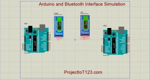 Bluetooth in Proteus