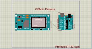 Gsm Library in proteus,GSM simulation in Proteus