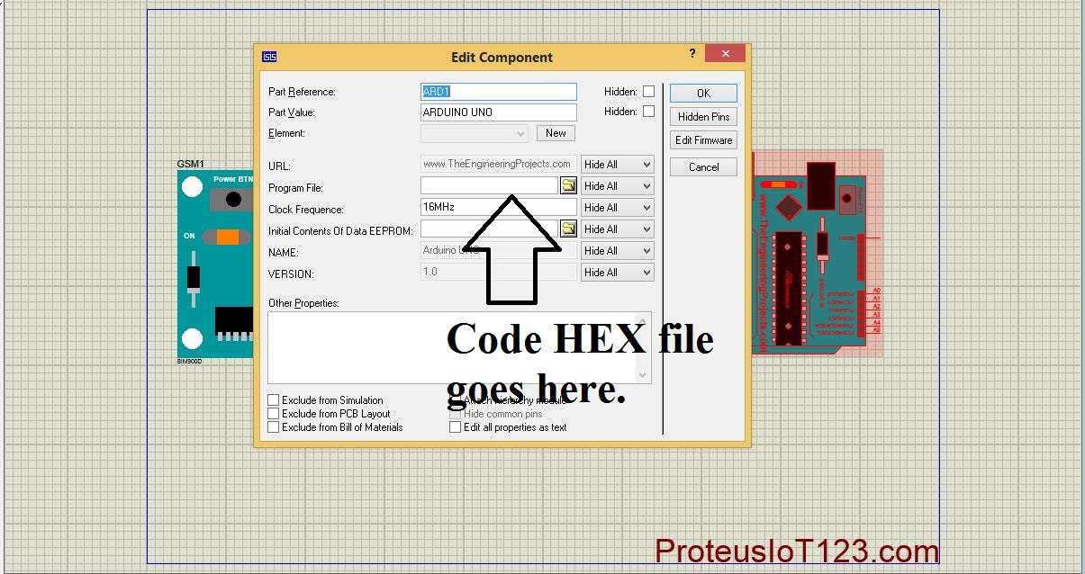 Gsm Library in proteus - projectiot123 Technology Information
