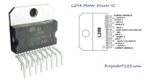 L298 Motor driver,L298 Motor data sheet,L298 Motor pinout
