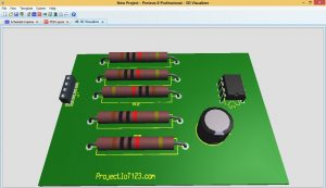 PCB Design in Proteus,PCB design in Proteus7 and Proteus 8 ,free pcb design software