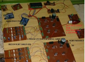 3 phase inverter,3 phase inverter arduino,3 phase inverter circuit using mosfet