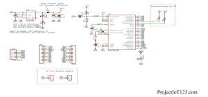 Arduino PRO MINI Schematic,Arduino PRO MINI Diagram