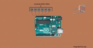 Arduino UNO Analog Pins,Arduino UNO Pins