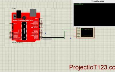 Virtual Terminal in proteus