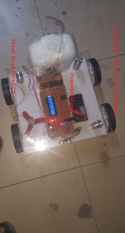 grass cutter robot arduino