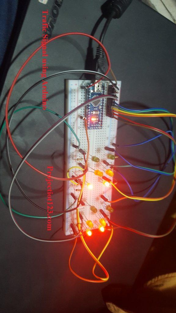 trafic signal Arduino Nano
