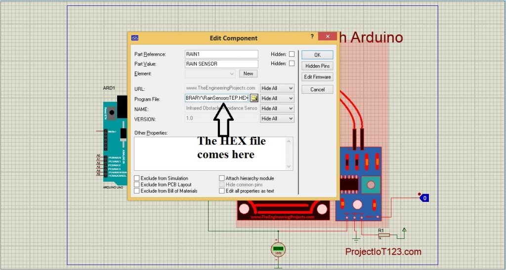 water sensor hex file