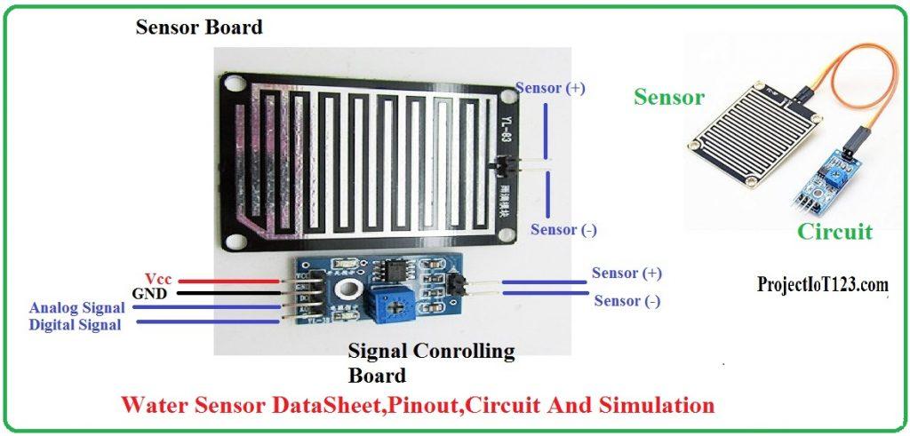 Water Sensor DataSheet And Pinout,water sensor circuit