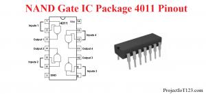 NAND Gate ,NAND Gate ic 4011,cd4011 pinout