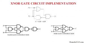 XNOR Gate circuit,XNOR Gate schematic