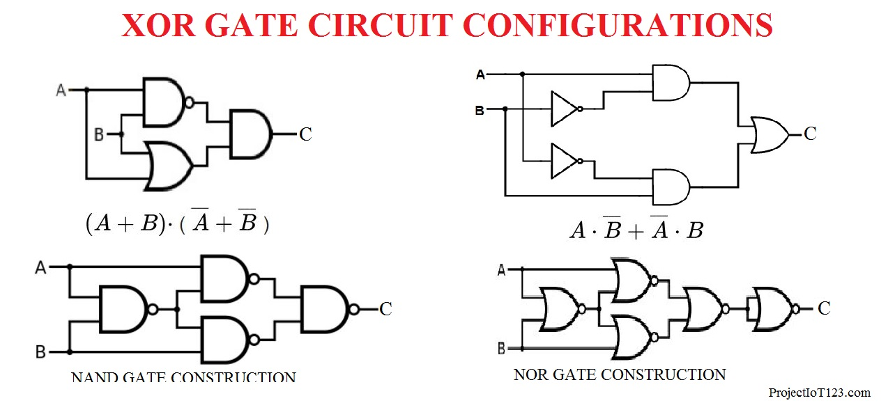 Introduction to XOR Gate - projectiot123 Technology ...