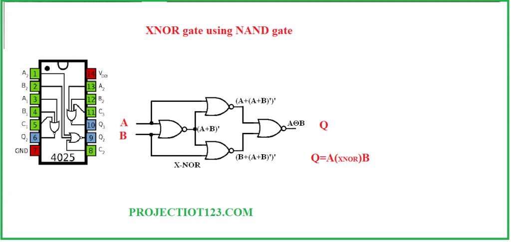 xnor gate using nor gate