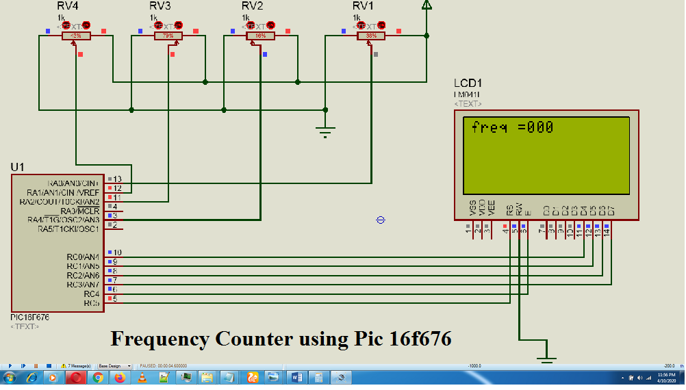 pic microcontroller projects,pic16f676 frequiency counter