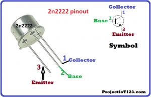 2n2222 pinout,Transistor Symbol,what is Transistor