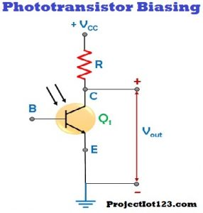 Working of Phototransistor,basic of Phototransistor