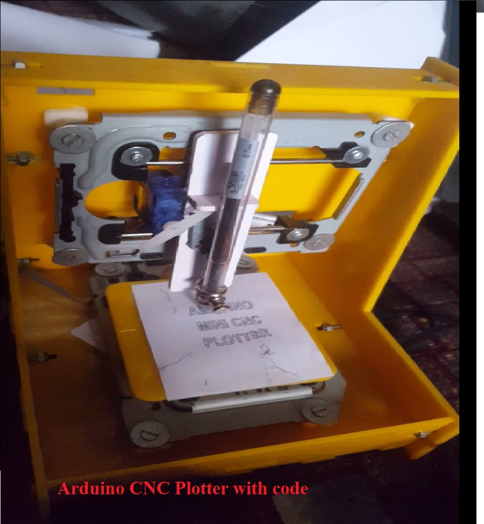 Arduino CNC Plotter with code
