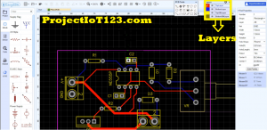 EasyEDA PCB Tutorial,layers of pcb