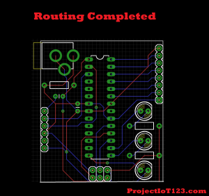 PCB  Routing,eagle pcb design software