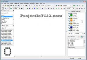 UI of Diptrace,pcb-design-software-diptrace