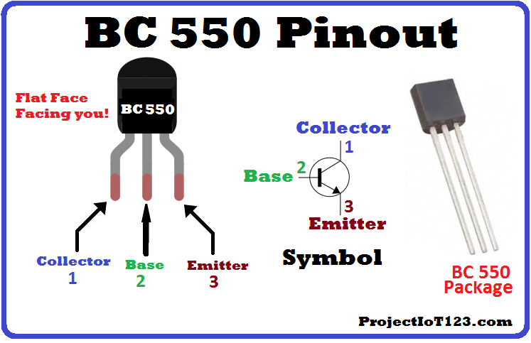 BC550 transistor