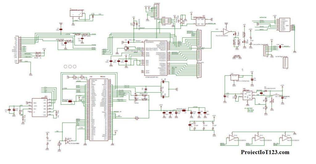 Arduino Ethernet Schematics
