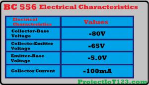 BC556 Basic Description