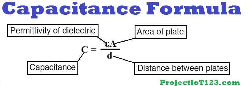 capacitor formula
