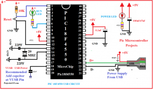 pic18f4550 usb circuit,Pic18f4550 microcontroller Basic Tutorial