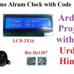 arduino alarm clock using rtc ds1307