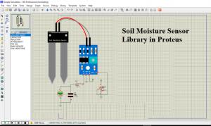 Soil Moisture Sensor Library in Proteus,Soil Moisture Sensor Library for Proteus