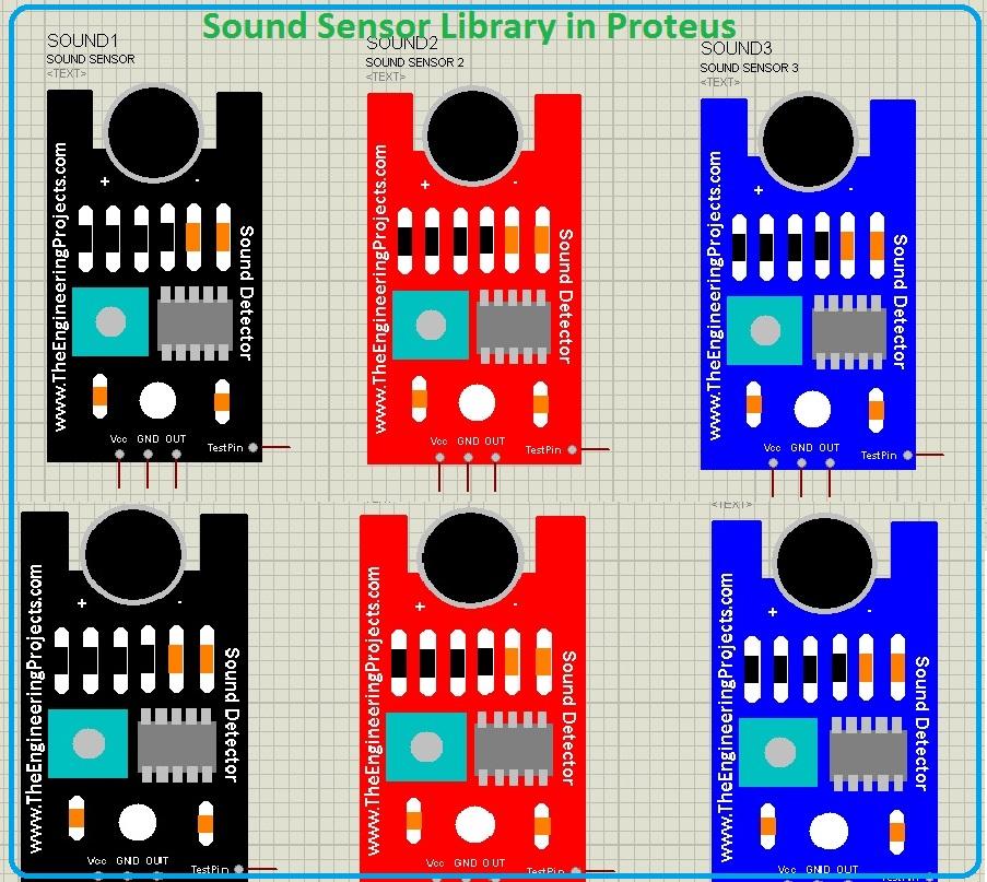 Sound Sensor Library for Proteus,Sound Sensor Library for Proteus,Sound Sensor Library in Proteus