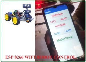 WiFi Controlled Robot Using ESP8266,wifi controlled robot using nodemcu code