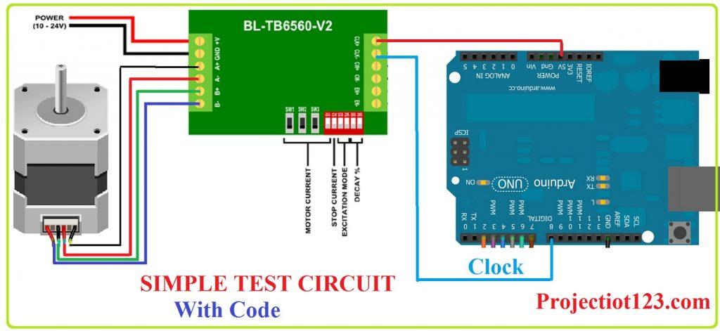 tb6560 interfacing with Arduino,tb6560 pinout
