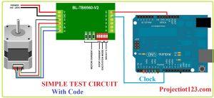 tb6560 interfacing with Arduino