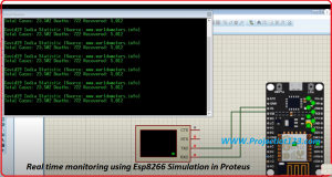 Esp8266 Simulation in Proteus,nodemcu Simulation in Proteus,wifi simulation