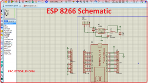 esp8266 schematic,esp8266 schematic proteus