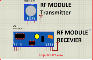 rf module library for proteus,rf module simulation proteus
