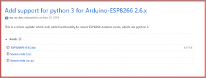 Esp8266 SPIFFS