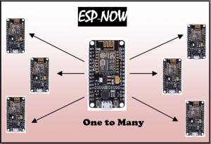 One ESP8266 board to multiple ESP8266 boards