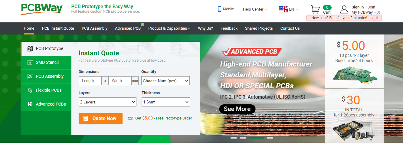 PCBWay is Better Than Other Service Providers